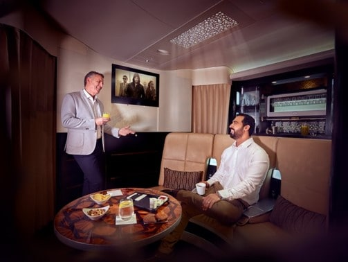 Enjoy pure luxury at Etihad Airways with an upgrade to First Class
