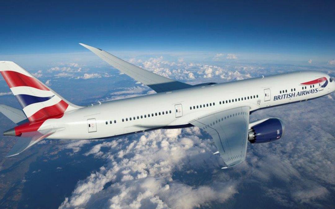 British Airways handhaaft niveaustatus Executive Club leden