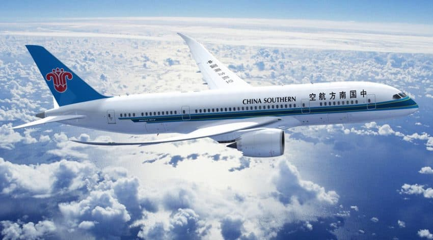 Vlieg met 'Skytrax-4-star-airline' China Southern Airlines