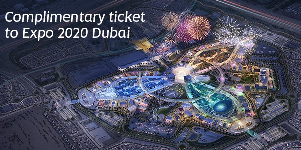 Gratis toegang tot Expo 2020 Dubai met Etihad Airways