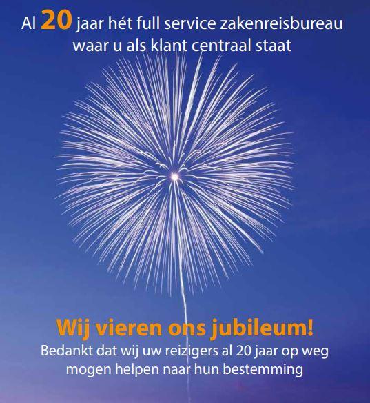 20 jarig jubileum e-Business Travel