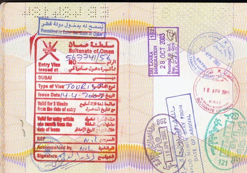 Reizigers naar Oman opgelet!