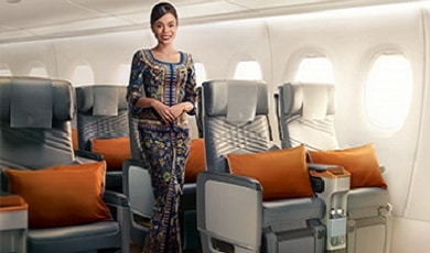 Reist u naar Azië, Australië of Nieuw-Zeeland? Kies dan voor Singapore Airlines