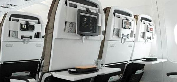 E-BOX Stream en slimme stoelen bij Etihad