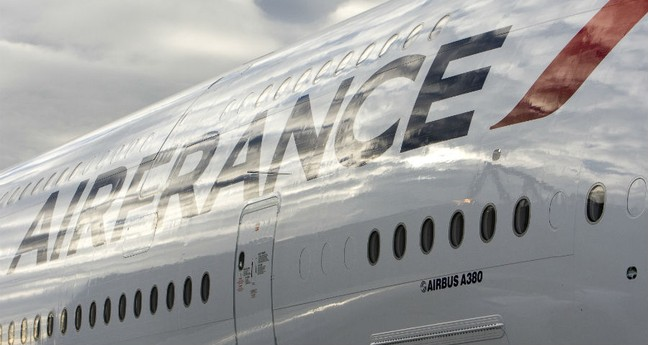Also Business Class on domestic Air France flights