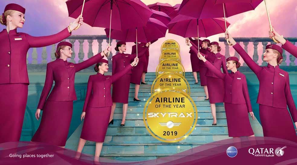 Qatar Airways uitgeroepen tot 'World's Best Airline'