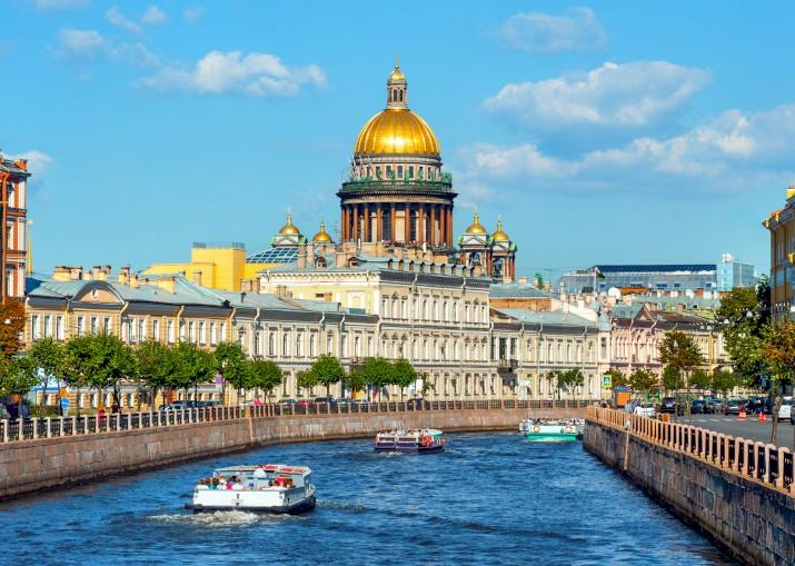 Dankzij e-visum makkelijker naar Sint-Petersburg
